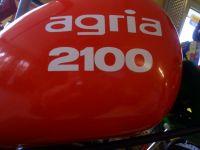 Agria Aufkleber mit Schriftzug 2100
