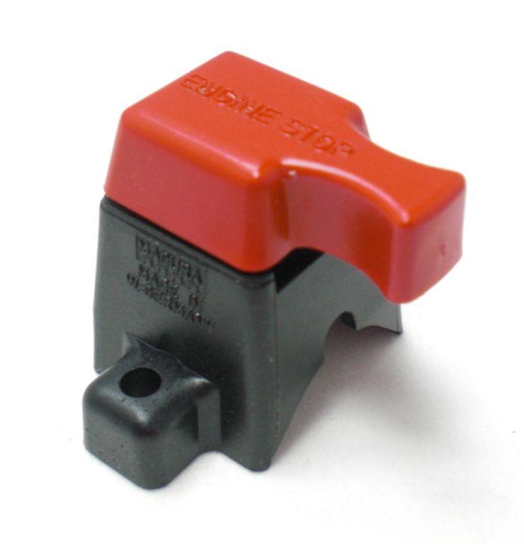 Stopp Schalter für viele Agria Geräte