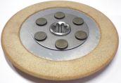 Original Kupplungsscheibe ( Sintermetall ) für Agria 3400 und 5500 , Nr. 72130